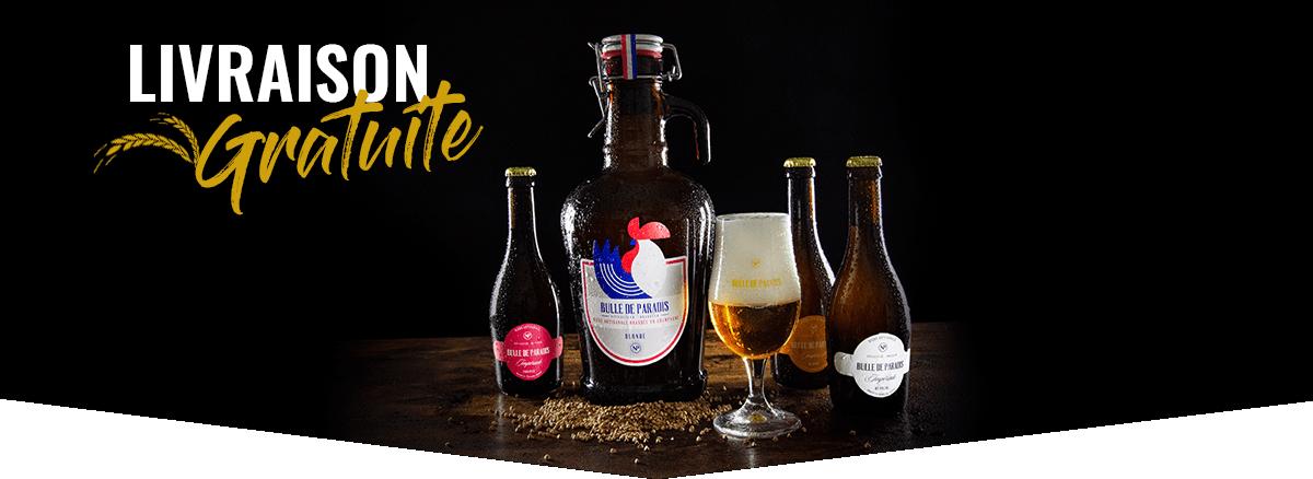 Livraison Gratuite - Bières Artisanales